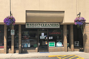 Kelly's Cleaners at Orchard Plaza is another member of the Eco Clean drycleaning family